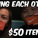BUYING EACH OTHER ITEMS! NIKE AND NORTH FACE EDITION!