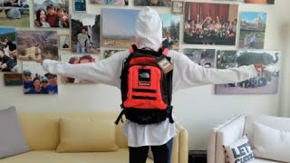 Supreme x The North Face RTG TNF Backpack + Mini Backpack Try-On Body Fit! SS20 Week #3