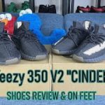 Yeezy 350 v2 Cinder 2020 Shoes Review & On feet