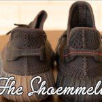 COLOR COMPARISON: adidas Yeezy BOOST 350 v2 'Cinder' vs 'Black Non RF'