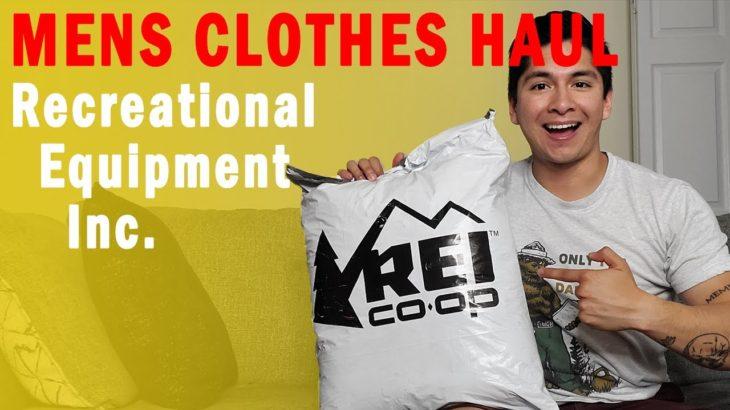 Men's Clothes Haul – REI | Antonio Rangel 2020