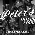 【幻のライダースジャケット】Peter's Tailor Made ピーターズ San Mateo サンマテオ