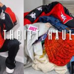 huge try on 2020 thrift haul! ft. Versace, Kappa, The North Face + More | Jeseniá Cheveria