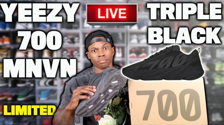 Adidas YEEZY 700 MNVN Triple Black Live Cop! Jordan 11 Concord Bred Releasing? *Lets Cook These Ws*