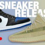 Air Jordan 1 Royal Toe & Adidas YEEZY Sulfur Sneaker Releases LIVE