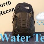 Is the Recon Water Resistant? | North Face Recon Water Test
