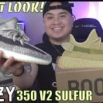 LIMITED? YEEZY 350 V2 SULFUR RELEASING! EARLY LOOK YEEZY 350 V2 ZYON! GIVEAWAY!