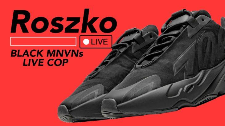 🔴 LIVE COP: YEEZY 700 MNVN BLACK