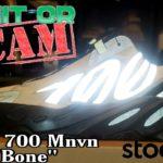 "Stock X Legit or Fake? Adidas Yeezy 700 MNVN ""Bone"" + On Feet Review"
