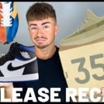 YEEZY 350 SULFUR & JORDAN ROYAL TOE RELEASE RECAP HOW MANY L'S!!!