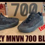 Yeezy 700 MNVN Triple Black LEGIT Check & Review!