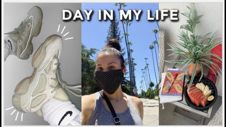 day in my life: overcoming sadness, new Yeezy's & life update