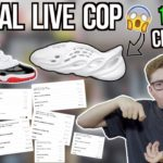 "15 PAIR CHECKOUT COOK! Yeezy Foam RNNR Ararat & Air Jordan 11 Low ""Concord Bred"" Manual Live Cop!"