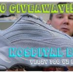 £100 GIVEAWAY!!! | YEEZY 700 V2 'HOSPITAL BLUE' REVIEW