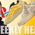 Playstation Sneakers?! OFF WHITE Air Jordan 5 Sail, New YEEZYs! WEEKLY HEAT