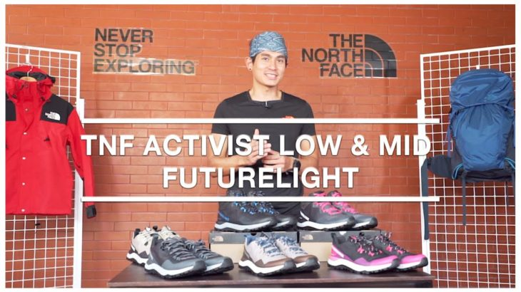 Review With Rikas Harsa – TNF Activist Low & Mid Futurelight