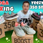 YEEZY BOOST 350 V2 MEGA UNBOXING | YECHEIL | DESERT SAGE | LINEN | BLUE TINT | ZYON |  AnnlieJoy TV