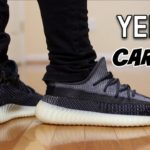 """BETTER IN HAND ?? YEEZY 350 V2 """"CARBON"""" """"ASRIEL"""" REVIEW & ON FEET"""