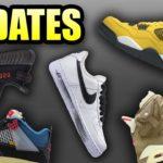 TRAVIS SCOTT Jordan 6 Khaki | Yeezy 350 BRED RESTOCK Date | UNION Jordan 4 RESTOCK | Sneaker Updates