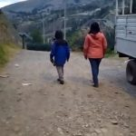 Testing in Peruvian Andes jackets The North Face – Resolve 2 for women and boys