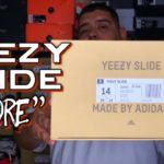 """WORTH PAYING RESELL?! YEEZY SLIDES """"CORE"""" REVIEW + MY HONEST OPINION!"""