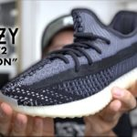 """Adidas Yeezy Boost 350 V2 """"Carbon"""" Review"""