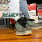 """HONEST REVIEW OF THE YEEZY QNTM """"TEAL BLUE""""!!! YEEZY QNTM """"TEAL BLUE"""" REVIEW & ON FOOT IN 4K!!!"""