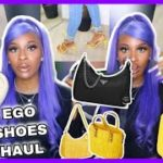I FOUND PRADA & YEEZY DUPES?!?  HUGE EGO OFFICIAL TRY ON HAUL | ABBY NICOLE