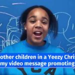 Kanye West Features Kardashian Kids in Yeezy Christian Academy Video