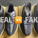 REAL VS FAKE YEEZY BOOST 350 V2 CARBON ASRIEL REVIEW