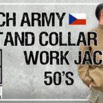 【SQUATコラボ!】50sチェコ軍スタンドカラージャケットを徹底解説!流通量の少ない希少なユーロビンテージをお見逃しなく!