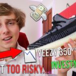 """THE YEEZY 350 V2 """"CARBON"""" IS TOO RISKY TO INVEST IN?! (SELL OR HOLD)"""