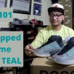 Vlog # 101 – Bro Copped this for me // adidas Yeezy QNTM Teal Blue