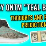 Why MOST Shouldn't Cop Adidas Yeezy QNTM Teal Blue Ophanim   RESALE PREDICTION & RELEASE INFO