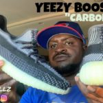 """YEEZY BOOST 350 """"CARBONS"""" SHOE REVIEW!!"""