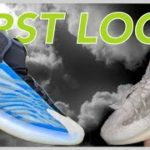 YEEZY QNTM FROZEN BLUE & YEEZY 380 CALCITE GLOW FIRST LOOK LIVE WITH VLORDD