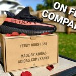 """Yeezy 350 v2 """"Core Black Red"""" 