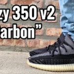 """adidas Yeezy 350 v2 """"Carbon"""" Review & On Feet"""