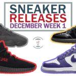 December 2020 Sneaker Releases Week 1    YEEZY RESTOCK!!! Yeezy 350 V2 BRED & Yeezy 500 BLACK