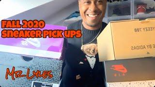 FALL 2020 SNEAKER PICK UPS: AIR JORDAN COURT PURPLE 3, YEEZY 700V3 SAFFLOWER, NIKE SB DUNK LOW ATMOS