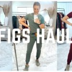 FIGS AND YEEZY SCRUB HAUL   TRY ON AND REVIEW OF THE NEW FALL/ WINTER FIGS