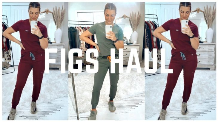 FIGS AND YEEZY SCRUB HAUL | TRY ON AND REVIEW OF THE NEW FALL/ WINTER FIGS