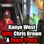 Kanye West Gifts Chris Brown A Yeezy Truck