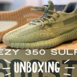 """Yeezy 350 V2 """"Sulfur"""" Unboxing and Detailed Look"""
