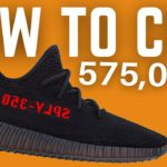 575,000 STOCK? How To COP YEEZY 350 V2 Bred + Resell Prediction