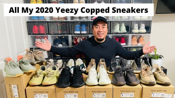 All My 2020 Yeezy Copped Sneakers