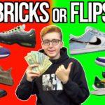 BRICKS or FLIPS December Week 3 Sneaker Releases! NikeSB, Yeezy 350 Tuape, Nike x Sacai & Jordan's!