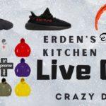 Erden's Kitchen – Live Cop is BACK! Yeezy 500 Utility Black, Supreme Cross BOGO & Yeezy 350 BREDS!!