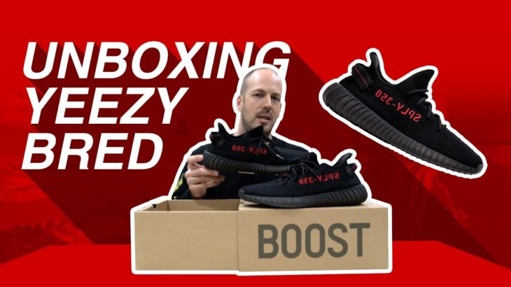 Hype Store Canada – Adidas Yeezy Boost 350 V2 Black/Red – Unboxing