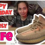 SURPRISE BIRTHDAY GIFT FOR MY BEAUTIFUL LOVING WIFE |UNBOXING|ADIDAS YEEZY BOOST 350 V2|SAND TAUPE